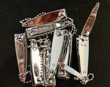 Lot of 6 TRIM Nail Clippers with File and Chain