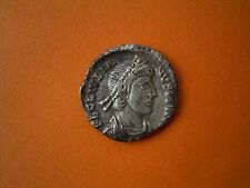 Rare Roman Silver Siliqua Of Julian II - UK Metal Detecting Find.