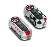 Fiat 500 White Remote Key Covers - Sport X 2 - Ivory New + Genuine 71805963