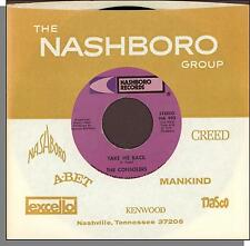 """The Consolers - Take Me Back + Let's All Sing a Song - 7"""" 45 RPM Single!"""