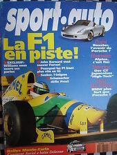 revue SPORT AUTO 1993 MONTE CARLO / TOYOTA SUPRA BITURBO / HONDA NSX / 300 ZX