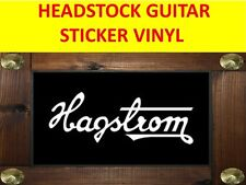 HAGSTRO WHITE PEGATINA STICKER GUITAR VISIT OUR STORE WITH MANY MORE MODELS