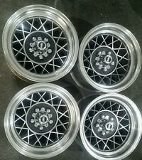 Holden HK HT HG Torana LH LX SLR SS 14 x 8 Hotwire set 4 polished new nuts caps
