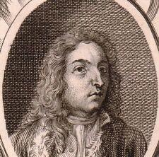 Portrait XVIIIe Antoine Watteau Valenciennes Peintre Peinture 1762