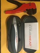 Cold Heat Cordless Soldering Tool w/ Case & Wire Cutter And Tip