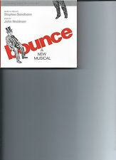 Bounce: A New Musical [Original Cast Recording] CD WITH BOOK STEPHEN SONDHEIM