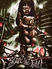 NEW Escape the Fate Zombie Girl Teddy Bear Las Vegas Rock Band T-Shirt SMALL