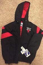 Logo 7 Chicago Bulls Jacket Coat Large New With Tags Vintage Michael Jordan MJ