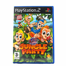 Buzz Junior: Jungle Partido Para Ps2 Niños 3 + Pal * 1st Class Post *