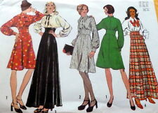 LOVELY VTG 1970s DRESS Sewing Pattern 14/36