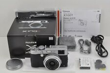 FUJIFILM X Series X100T 16.3 MP Digital Camera Silver Body w/ Box #170320a