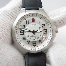 "SWISS ARMY,Victorinox,""Active Base Camp"" Orig Rubber Band Long MEN'S WATCH,719"