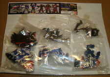 HG GASHAPON FIGURE SUPER ROBOT PART 6 SUPER ROBOT 28 SET COMPLETO - BANDAI