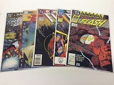 THE FLASH ANNUALS #2-12 (DC/1988/WB TV SHOW/101663) SET LOT OF 5