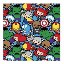 "Kawaii Marvel All In The Pack 16004  100% cotton 44"" wide fabric by the yard"