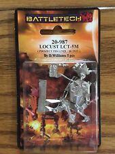 Classic Battletech Locust Mech 20-987 NISB Iron Wind