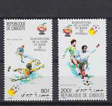 djibuti 1980 world cup,set Sc C141/2 MNH          f1848