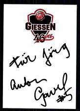 Anton Gavel Giessen 46er 2004/05 TOP AK Original Signiert +A 12959 + A 70989