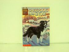 Sheepdog in the Snow Ben Baglio chapter book young reader Scholastic