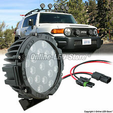 "LED Fog Lamp OR Off Roading Lights For all SUV's ( 51 Watt, 17 LED's, 7"" Size )"