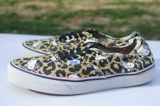 2000's Cheetah/ Hello Kitty Print Vans, Low Cut. Men's Size 7.5, Used