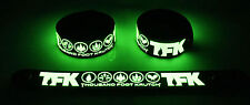 Thousand Foot Krutch  Glow in the Dark Rubber Bracelet Wristband Born This Way
