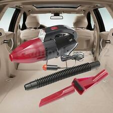 12V 60W Handheld Car Auto Wet Dry Cigar Lighter Vacuum Dirt Cleaner With Light