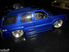"1/18 SCALE JADA TOYS ""BIG BALLER$"" DUB CITY 2002 Cadillac Escalade Custom Stereo"