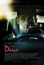 DRIVE orig '11 movie poster one sheet RARE dir of NEON DEMON, ONLY GOD FORGIVES