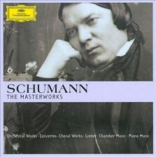 Schumann: The Masterworks [Limited Eidtion] [Deluxe] New CD