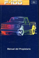 1996 FORD F100 MANUEL DEL PROPIETARIO OWNER'S MANUAL BETRIEBSALEITUNG ARGENTINA