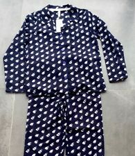 BCBG Generation Designer Coffee Cup Flannel PJs Pyjamas Size M BNWT Ideal Gift
