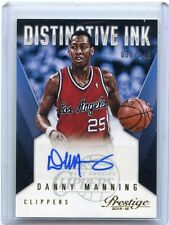 2015-16 PRESTIGE #PI-DM DANNY MANNING AUTOGRAPH #36/149, LOS ANGELES CLIPPERS