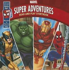 Marvel Super Adventures: Read-and-Play Storybook: Purchase Includes Mobile App f