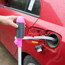 Manual Handpumpe Absaug Siphon Pumpenschlauch für Wasser Ölwechsel Auto Motorrad