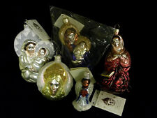 PATRICIA BREEN 5 LOT ANNUNCIATION MARY SEATED MADONNA NIGHT ANGEL OF LIGHT