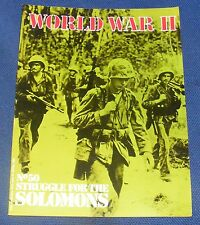 WORLD WAR II NUMBER 50 -  STRUGGLE FOR THE SOLOMONS