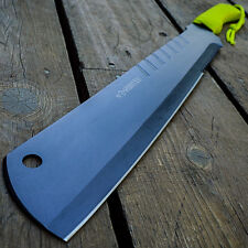 """18"""" TACTICAL SURVIVAL Fixed Blade ZOMBIE MACHETE Hunting Sword Full Tang Knife"""