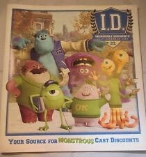 WDW DISNEY CAST MEMBER I.D. ID INCREDIBLE DISCOUNTS JULY - DECEMBER 2013 NEW