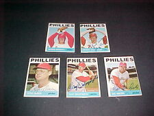 1964 TOPPS B/B PHILA. PHILS AUTO. CARD LOT NM
