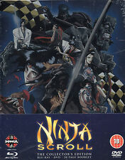 NINJA SCROLL - Blu-Ray / Dvd Steelbook - Limited Edition -