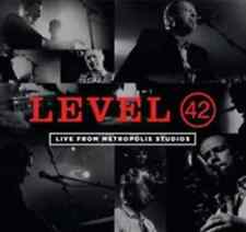 Level 42-Live from Metropolis Studios CD with DVD NEW