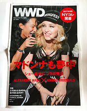 MADONNA WWD JAPAN FASHION NEWSPAPER Sep-19, 2016 NEW Anna Sui Untitled