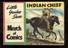 March of Comics (1946) #170 1st Print Indian Chief Yankee Shoes Giveaway VG/FN
