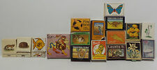 MATCHES : MATCH BOXES / MATCH BOOKS - VARIOUS ANIMALS THEMED (PM) 4
