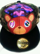SNAPBACK HAT CUSTOM MADE GRADUATION BEAR KANYEWEST