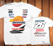 Dani Pedrosa New 2014 MotoGP Team 100% Cotton Personalized T-Shirt