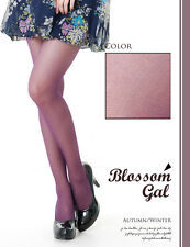 NEW ** Blossom Gal ** PURPLE Stockings Hosiery Pantyhose Lingerie 9150