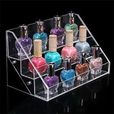 Nail Polish Varnish Display Stand Acrylic Lip Stick Shop Retail Holder Rack SV