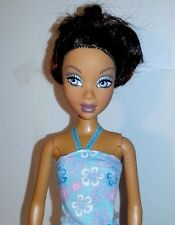 My Scene Madison AA Barbie Doll Removable Head Bun Style Beautiful Mattel